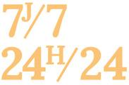 7J/7 | 24H24